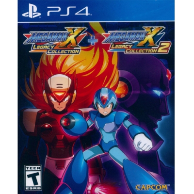 洛克人 X 週年紀念合集 1+2 Megaman X Anniversary Collection 1+2 - PS4 中英日文美版