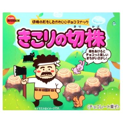 北日本 樹根造型巧克力風味餅乾(66g)