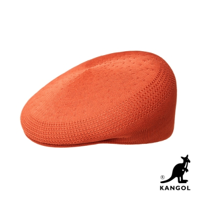 KANGOL-504 TROPIC 鴨舌帽-亮橘色