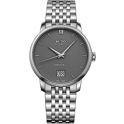 MIDO美度BARONCELLI永恆系列III經典機械腕錶(M0274261108800)