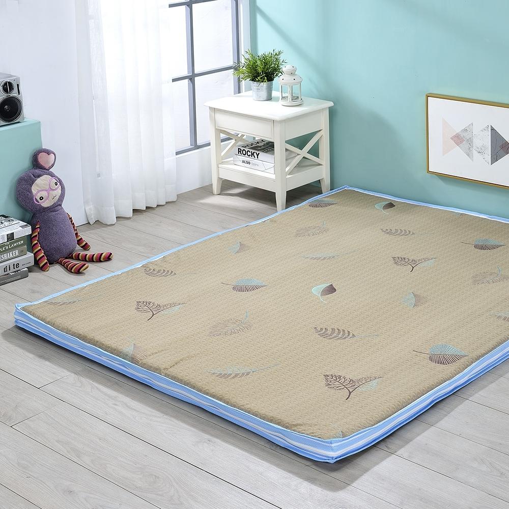 戀戀鄉 (雙人5X6尺)台灣製極致舒柔5CM冬夏兩用雙人床墊(三款)