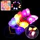 發光點點蝴蝶結髮箍派對演唱會LED閃光裝飾頭箍-超值2入 kiret product thumbnail 1