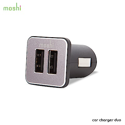 Moshi Car Charger Duo 車用雙端口充電器
