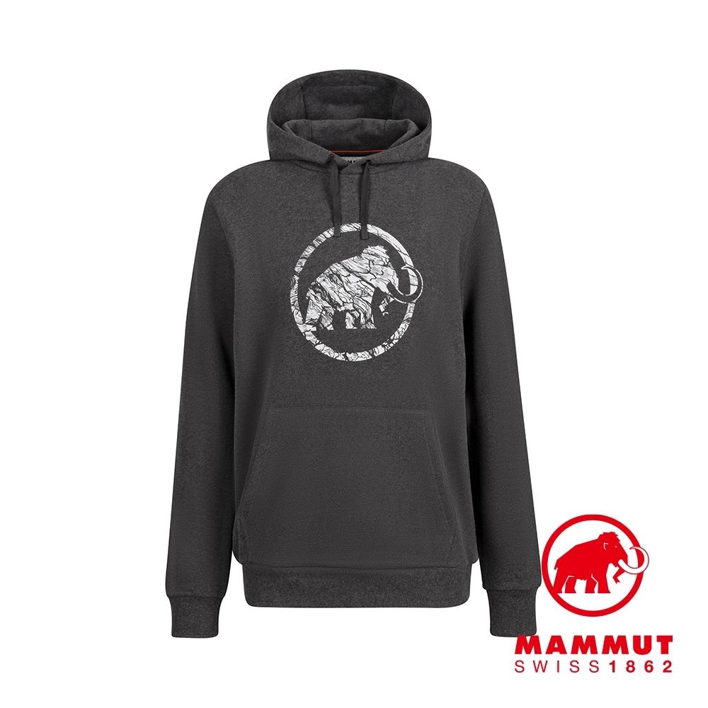 【Mammut 長毛象】Mammut Logo ML Hoody Men 長袖連帽T 黑色 男款 #1014-02141