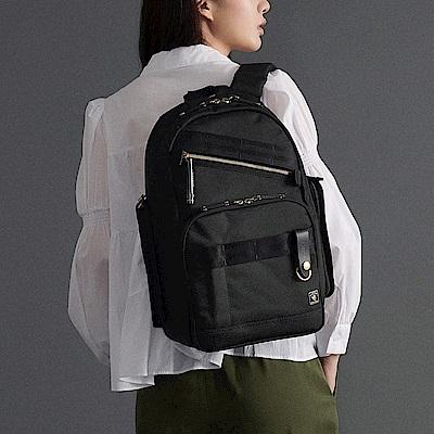 PORTER - 經典新進化NEW HEAT高機能型格後背包 - 黑