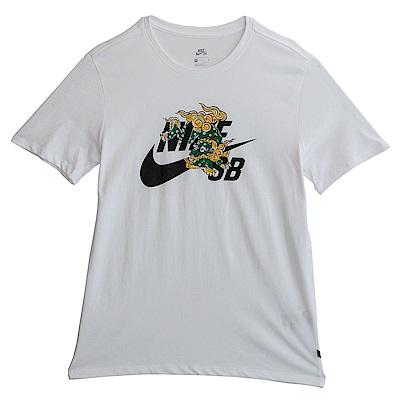 Nike 耐吉 AS M NK SB-短袖上衣-男