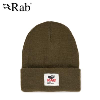 【RAB】Essential Beanie 經典羅紋毛帽 軍綠 #QAA65