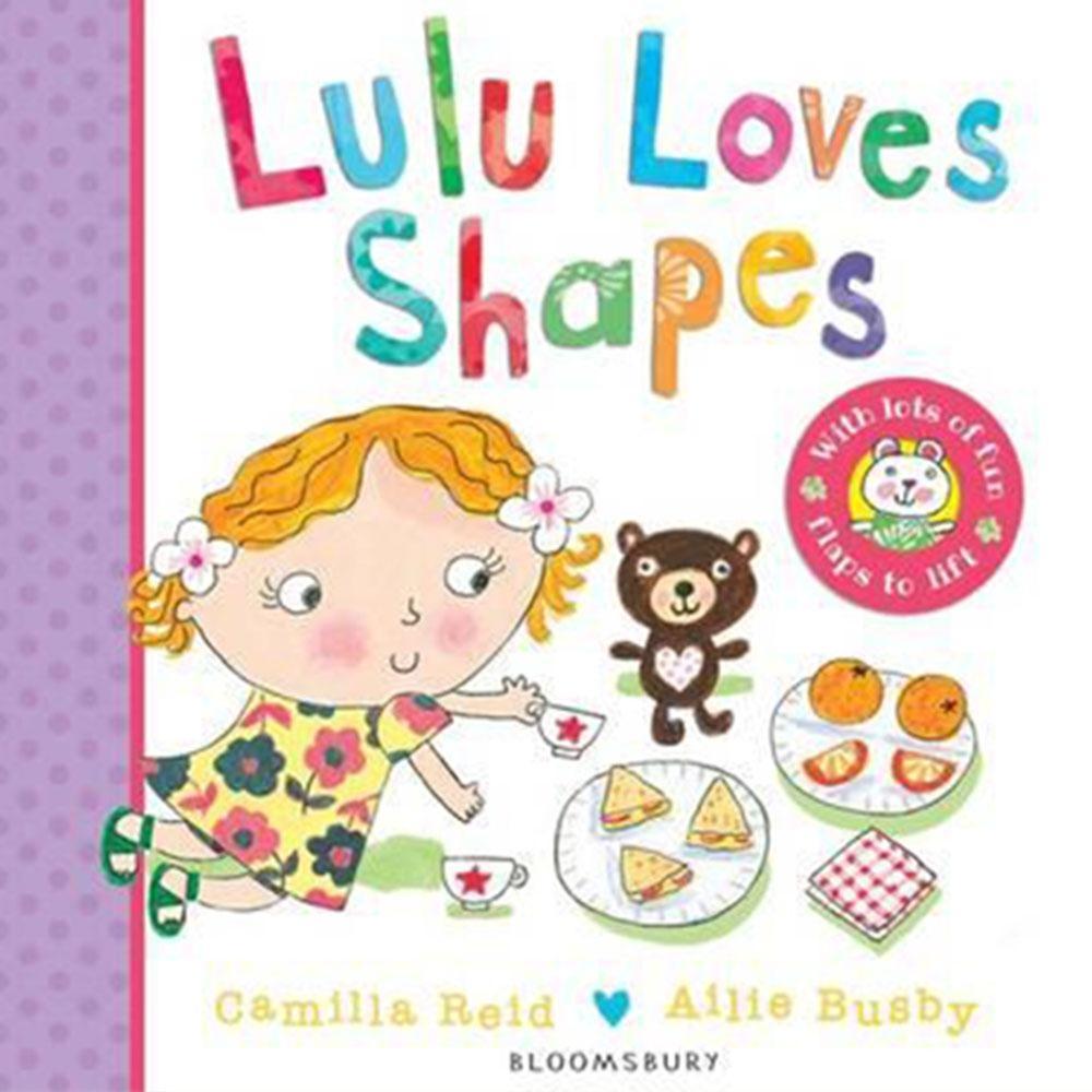 Lulu Loves Shapes 可愛Lulu愛形狀翻翻硬頁書
