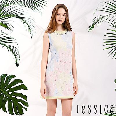JESSICA - 漸層色彩設計洋裝