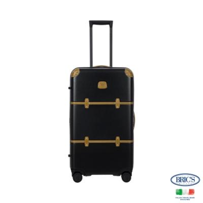 BRICS 義大利經典款 Bellagio Trunk 29吋 黑色 拉鍊拉桿箱 行李箱 胖胖箱