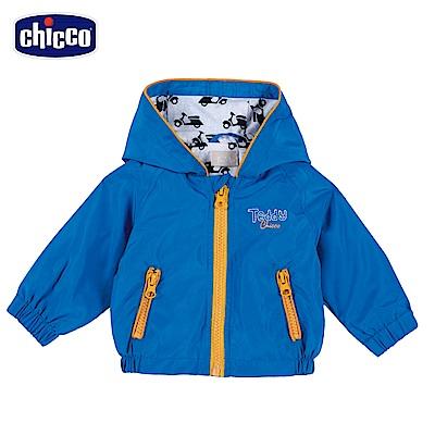 chicco-外套-連帽摩托車防風外套