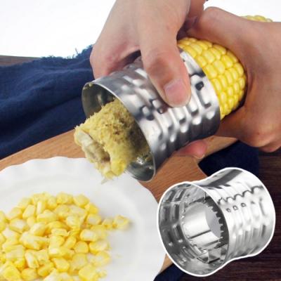EZlife304不鏽鋼剝玉米神器