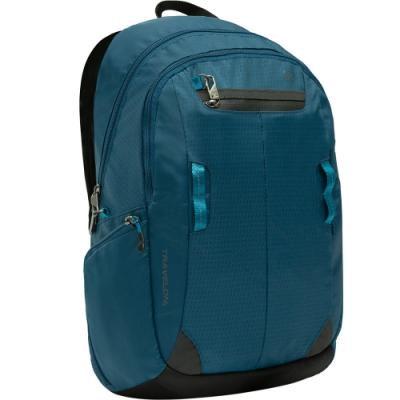 《TRAVELON》Active三層防盜後背包(藍)