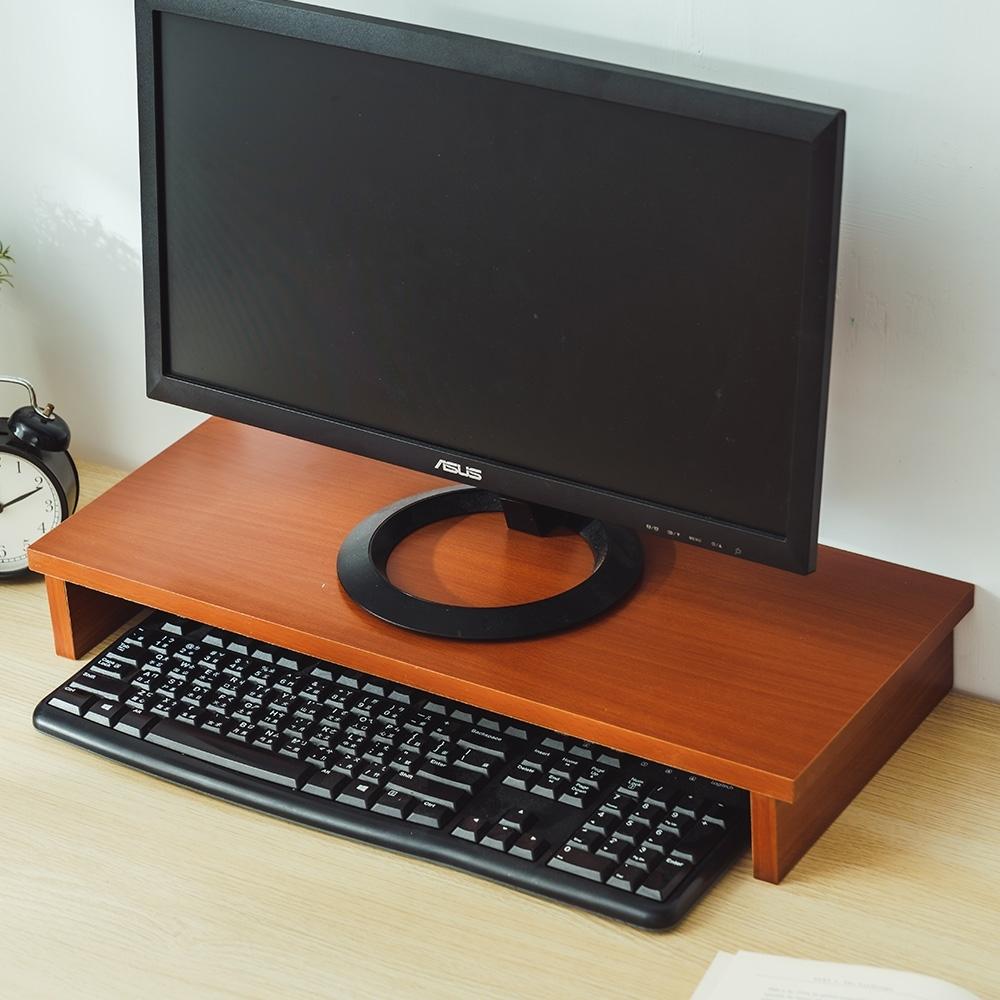 樂嫚妮 螢幕架/桌上架/鍵盤收納/推薦-寬54高8深24cm-(3色)