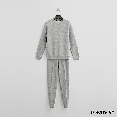 Hang Ten - 女裝 - F.TERRY 系列-簡約純色棉質套裝-灰