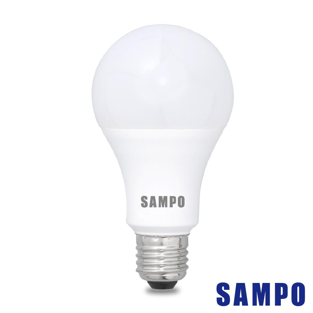 SAMPO聲寶 全電壓16W LED燈泡 6入組(白/黃光)