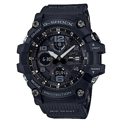 G-SHOCK MUDMASTER防塵防污高效能太陽能錶-黑(GSG-100-1A)54
