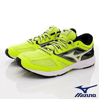 MIZUNO童鞋 X10耐磨鞋款 ON93945黃(中大童段)
