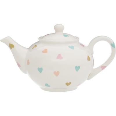 《Premier》陶製茶壺(愛心1.3L)