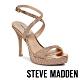 STEVE MADDEN-SHOSHANA奢華性感晶鑽踝繞帶高跟鞋-金色 product thumbnail 1
