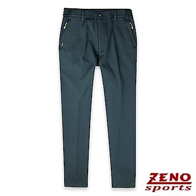 ZENO 保暖刷毛彈性機能長褲-二色