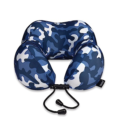 murmur 紓壓頸枕-迷彩藍 NP019