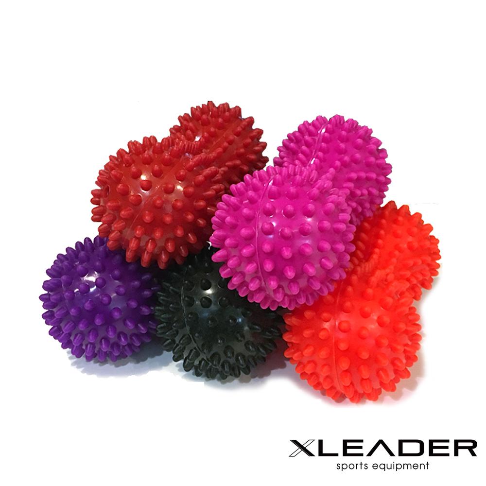Leader X 加強版穴位紓壓刺蝟花生按摩球 筋膜球 顏色隨機 - 急
