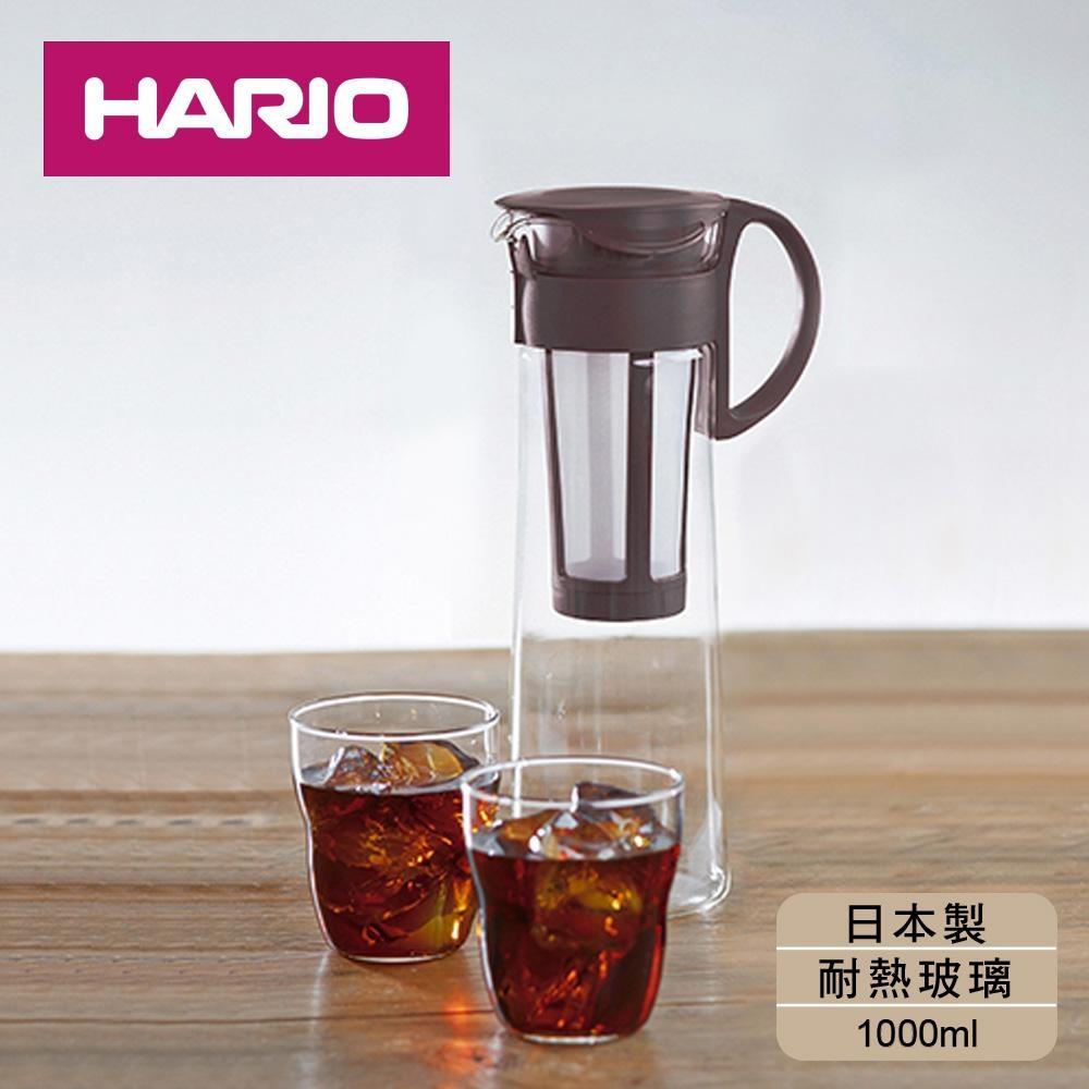 [日本HARIO]冰萃咖啡壺附網1000ml-咖
