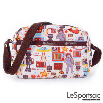 LeSportsac - Standard側背隨身包(太空漫遊)