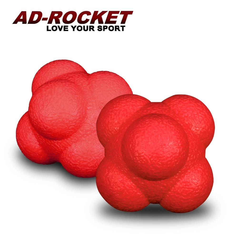 AD-ROCKET 六角反應訓練球(兩入組)