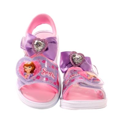 女童台灣製迪士尼蘇菲亞公主閃燈涼鞋 sa07507 魔法Baby