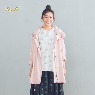 【DAILO】數字印花-外套(四色)
