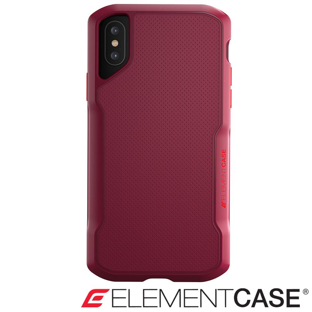美國 Element Case iPhone XS / X Shadow 防摔手機殼- 紅