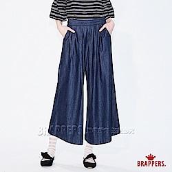 Boy Friend系列-鬆緊帶八分寬版褲