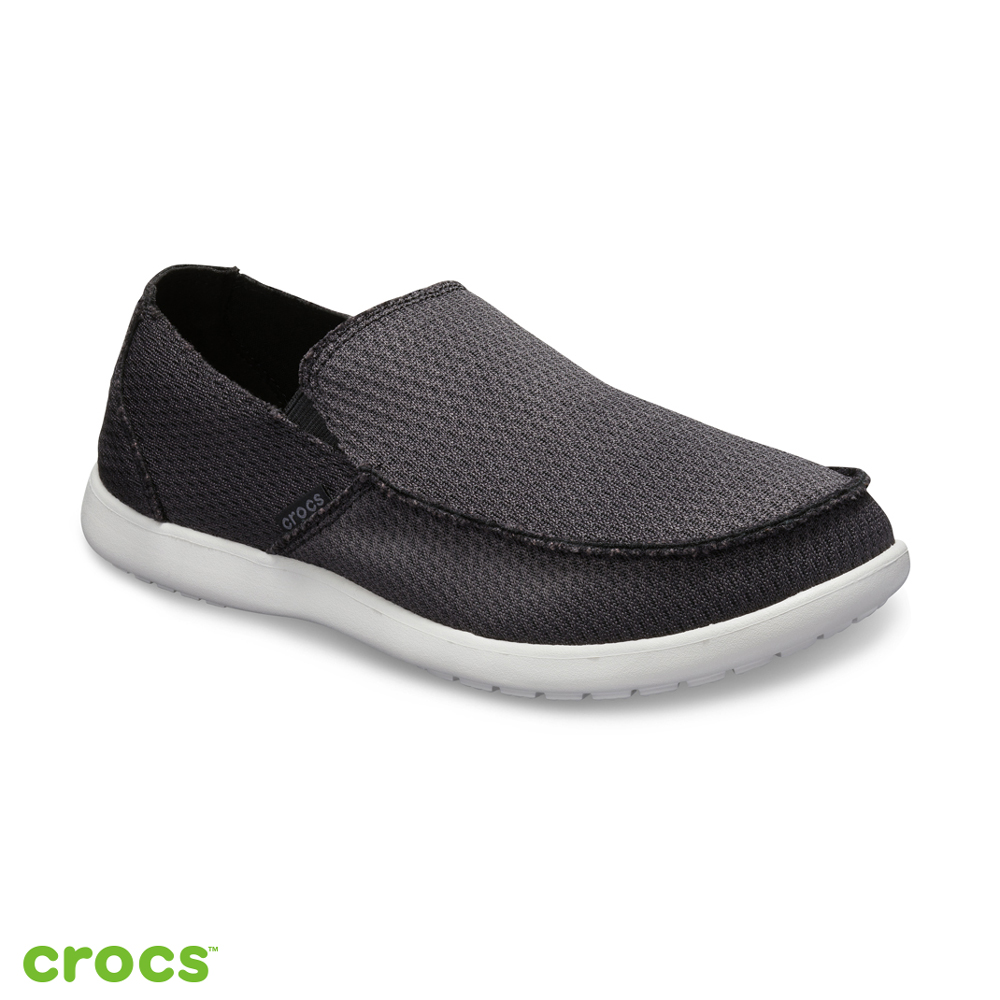 Crocs 卡駱馳 (男鞋) 聖克魯茲HC便鞋 205674-001