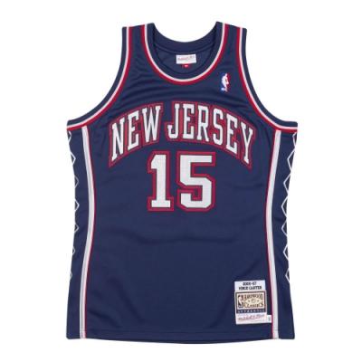 M&N Authentic球員版復古球衣 籃網隊 06-07 #15 Vince Carter