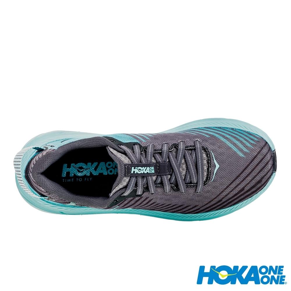 HOKA ONE ONE 女 Rincon 路跑鞋 木炭灰