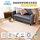 【格藍傢飾】日本技術AIRFit 晶絲絨紓壓保暖水洗地毯-卡其(100*160cm) product thumbnail 1