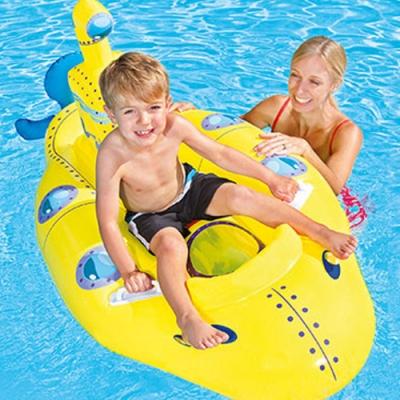 Bestway 41098 潛水艇造型充氣浮排坐騎水上玩具附修補片.夏日海邊泳池戲水
