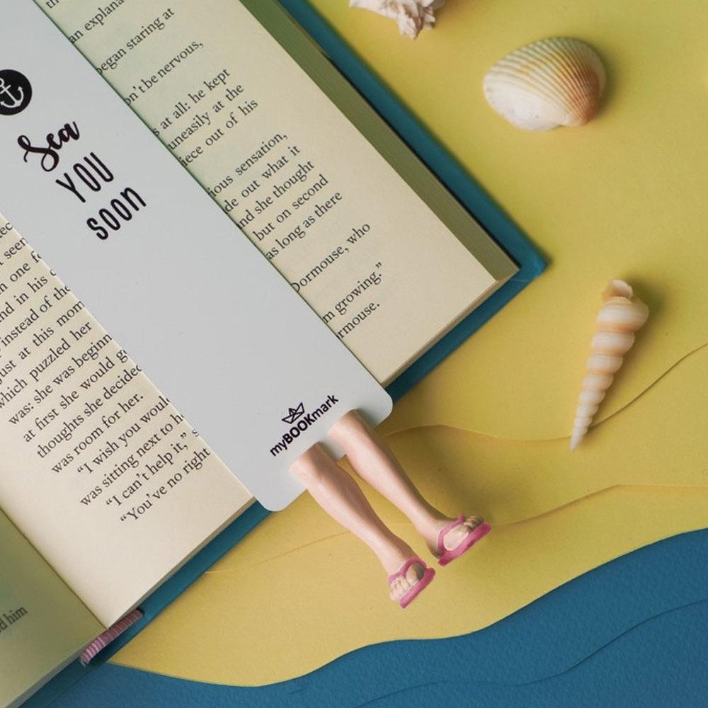 烏克蘭myBookmark-夏日海灘鞋(粉)