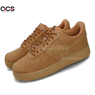 Nike 休閒鞋 Air Force 1 07 WB Wheat 小麥 男鞋 膠底 棕色 AF1 CJ9179200