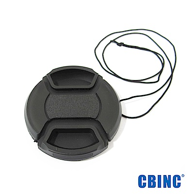 CBINC 夾扣式鏡頭蓋(附繩) 52mm