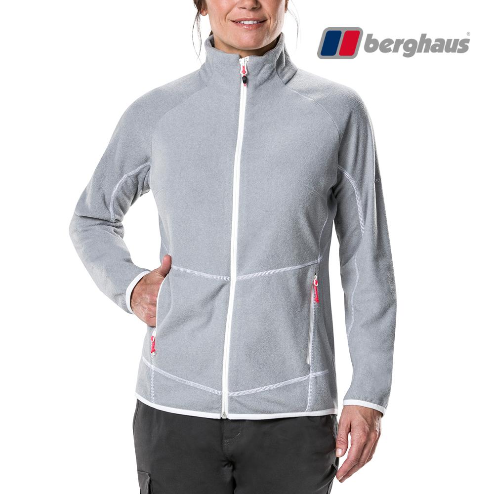 【Berghaus貝豪斯】女款刷毛保暖外套H22F33灰色