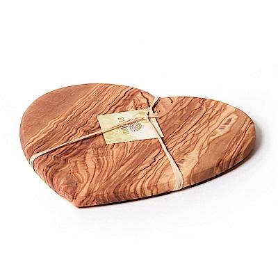 法國Berard畢昂 心型木餐/砧板(大)28*17*1.6cm