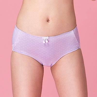 嬪婷-FTC 記型M-LL 低腰平口褲 (紫 )透氣包臀-成套搭配