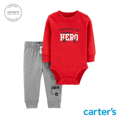 Carter's台灣總代理 小小英雄2件組套裝