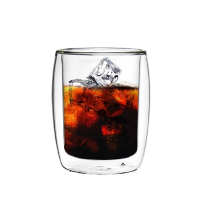 FUSHIMA富島 英倫系列雙層耐熱玻璃杯260ML