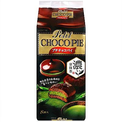 LOTTE 巧克力派[濃厚抹茶](116g)