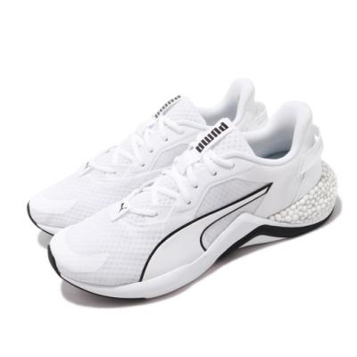 Puma 慢跑鞋 Hybrid NX Ozone 運動 男鞋 輕量舒適 避震 路跑 健身 球鞋 穿搭 白 黑 19338406
