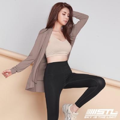 STL Metro Cardigan 韓國運動開襟長版罩衫外套 知性杏